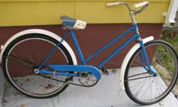 Been in storage for 40 years, this classic piece of nostalgia is in excellent mechanical shape.  All original parts, paint has some minor scratches but expected for its age. Good tires and drivable. Color is metallic blue, price 100.00, located in