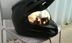 Barely Used! Mirrored Visor Only! No helmet Pick-up in Sooke or Meet Westshore.