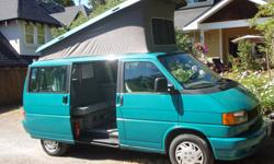 1992 Westfalia- Strong mechanically with nearly new clutch and recent electrical components. Standard Westfalia set up with sink, propane, table etc. Seeps 4. 214,00km.