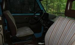 1984 vw westfalia project for sale. Last on the road 10 years ago. Body good structurely. Interior good. Canvas needs repair. Needs some tlc. Call Doug at 647 704 1395 to view. $4500 OBO.