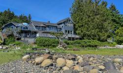 # Bath 3 Sq Ft 2834 MLS 408773 # Bed 3 Ocean front! 96ft. of waterfront with impressive views of Baynes Sound from Tree Island to Buckley Bay.. who wouldn't want to call this home? This sprawling 2204sqft. 3 bed +den solid home is one-of-a-kind and has