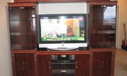 "Moving Sale Wall unit California design like new, I paid $1550 42? inch Samsung Plasma TV Coolsat Free to air satellite 31"" satellite Dish with stand and 50ft cable All just $ 1100 Make you offer today, we have to sell before Dec 28 2011 For more"