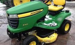 Hi there, We have a John Deere X300 riding mower and are looking to buy a new hood for it. If you have one that can be parted out let me know. Thanks. Kevin