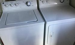 Great condition washer and dryer. Work perfectly with no issues.