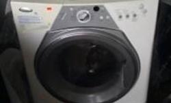 Brand New , whirlpool heavy duty washer & dryer. Not a pair, but both brand new , never used. Front load washer, top load dryer. Excellent shape.