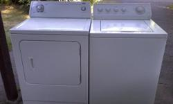 Can sell separately. Washer is an Inglis, and dryer is an Ultra Dry. Both are heavy duty, full size, clean and attractive. Tough machines that don't come with any unpleasant surprises. Ideal for a tenant. Washer is going for $ 150 if picked-up, and dryer