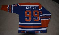 Wayne Gretzky Autographed Oilers Jersey   With WGA (Wayne Gretzky Authentic) COA   Authentic Pro Jersey (not a knock off and never worn - compare @ $400 for jersey and cresting only)   $950.00 (firm)    I am willing to take REASONABLE offers on all items
