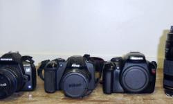 Heritage Pawnbrokers has a Selection of Digital SLR, Digital and 35mm Cameras. Call or stop in for availability and prices. This listing is just an example of what we carry. Located in Duncan. Please Note: We are NOT the shop on the TransCanada highway;