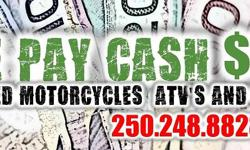 We are in need of your used bike. Need an instant sale? Try us. Bring your bike to Spunkys and if agreed on a sale, get paid right away. EASY !
