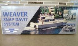 Hooks a zodiak or similar boat to back of a larger boat (cruiser). $350.00
