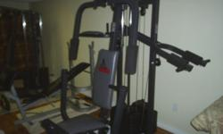 full home gym this thing has more functions and options then I can list off. this unit offers a complete work out, never pay or go to the gym again.