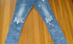 Too short for my son now. Great Jeans if you love holes :) Also on Used Victoria