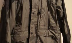 Wetskin waterproof wind breaker size small but fits more like a medium. In excellent condition.