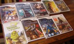 10 wii games for sale.