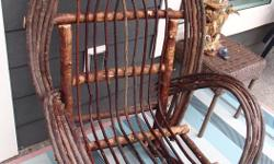 Hand crafted Willow chair