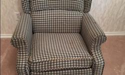 Good solid chair needs recovering