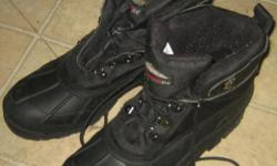 winter boots in excellent condition size 11 $25 firm 604 800 2104, no texting
