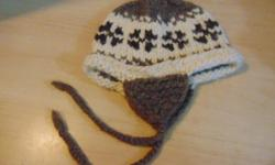 Winter Hat Child Age 5-8 Native Indian Wool $15 Price is firm. PLEASE CLICK ON THE WEBSITE LINK TO VIEW OUR ENTIRE STOCK OF CHILDREN'S CLOTHING. WE CARRY ALL SIZES. NEW STOCK ARRIVES DAILY.