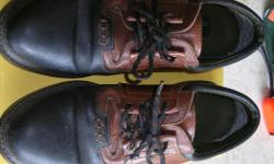 """WOLVERINE MEN'S LEATHER SHOES SIZE 9 to 9.5 W. In good worn condition. Its a house number so texting will not work. """"""""DO NOT"""""""" CALL BEFORE 8 am. OR AFTER 9:00 pm. CASH ONLY. PICKUP ONLY VIEW MAP for general location. View poster's list for this Seller's"""