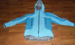 I have a blue barely worn Arcteryx Shell for sale. Size M. It's full gortex, great for ski touring, ice climbing or any other outdoor adventure. This thing will protect you from the elements hands down!! I paid $700 for it brand new, so I am asking