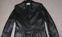 I?m selling a women?s leather jacket size 8 in great condition. Reason for selling is I lost weight and it no longer fits.