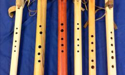 Hand made wooden flutes,irish whistles,middle eastern ,native american style flutes as well,custom at request. also at the Duncan guide hall on saturdays between 9 am and 2 pm,,,,,you can phone me,,,,597 7736 James
