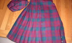 ages 11-12, highland home industries, scotland, excellent shape, with pin