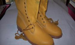 Kodiak work boots-size 10-steel toed-new-never worn-as pictured this item may be seen at the flea market at Western Speedway on Sunday morning -to end of Sep