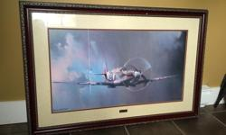 Beautifully framed and in prestine condition. Bought new at Costco $150 2 years ago. 41X27