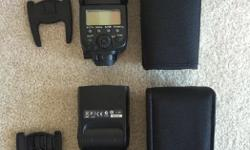 x2 Speedlite's x2 Cactus Wireless Triggers x2 different types of diffusers Manual