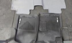 I have two front mats in black, purchased recently to fit a Toyota Tacoma quad cab truck. I also have a grey one piece rear mat, a few years old. The mats sell for $165 each for the front mats and the newer rear mat for $134 at Cap it. I sold my truck so
