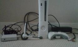 Upon registration with Telus Optik TV I received a brand new XBOX 360 Kinect, so I no longer have need for my other XBOX 360. The price I am selling it for is $180.00 this will include:  XBOX 360 250G Console  Wireless XBOX controller Wireless Network