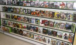 Item: Come down and check us out for Xbox 360 games! We have a huge selection of games available for as low as $5-$10 each! We also carry more rare, sought after and obscure titles. You can also find first part controllers, memory cards, dvd remotes, HD
