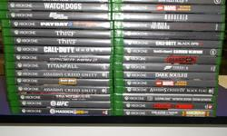Item: We have some Xbox One titles to choose from including some harder to find, limited release and AAA titles. We also have a few sealed games that are kept behind our displays as well. All games & consoles come with a one month warranty. Thanks for