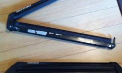 Used Yakima snowboard roof rack.. (clips only) you'll need the bars and clamps. Excellent condition.. Have key to lock rack. $50 OBO This ad was posted with the Kijiji Classifieds app.