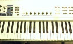 Yamaha CS6X Control Synthesizer. Good condition. Located in Duncan. Stock#32831 A-MLL Please Note: We are NOT the shop on the TransCanada highway; we are located directly behind on Whistler St. Please find a Map and Directions at