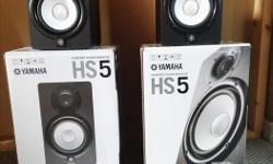 Mint condition, with boxes. $400 firm. Ever since the 1970's the iconic white woofer and signature sound of Yamaha's nearfield reference monitors have become a genuine industry standard for a reason - their accuracy. Unlike studio monitors with added bass