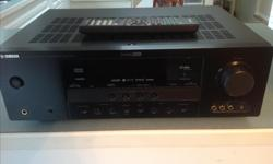 Yamaha Htr-6140 home theatre reciever. Unit is in excellent condition. Has 2 HDMI in, 1 out. Comes with remote $95