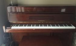 Very nice M1 Yamaha Piano . Reason for selling my Kid want a Digital Piano to record music . The piano is been tuned every two years by a professional . Make me and offer .