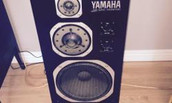 Selling a pair of the legendary Yamaha NS-1000M studio monitors. These are a truly high end speaker that have been used in multiple recoding studios around the world. Normally these speakers sell for $1500 a pair and up. The reason these ones are cheaper