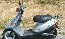 Runs great, no issues , needs nothing, well kept and maintained Top speed on flat is about 70-75 Km/hr Odo: 4151, Year: 1988 Very cheap to run - Goes about sixty to a tank and a tank's about two-fifty worth. No motorcycle license needed. You can test ride