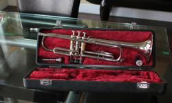 Trumpet was found in some items in a family estate - don't know anything about trumpets but I have priced it fair for someone taking up the horn. Or just WAKE THE NEIGHBOURS!!!! Model: YTR-1310 - Production period of this model is 1982-1991.
