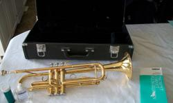 Yamaha Brass Trumpet For Sale Model YTR2335 This trumpet is like new. Comes with case and cleaning equipment. It is 4 years old. Paid $775 w/ taxes. Asking $325.00   Call 542-7388  Kamsack, Sask