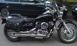 Runs Great.  Has Vance & Hines pipes. Also comes with stock pipes and Yamaha Motor Cycle cover.