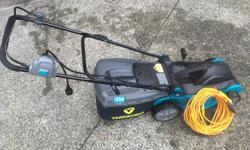 Excellent condition, including 100 ft of extension cord (cell 250-755-9555) (Can Tire price $200 +)
