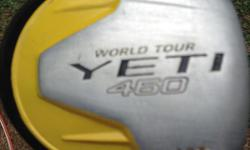 YETI 460 Driver stiff shaft 10.5 loft NIKE knock off