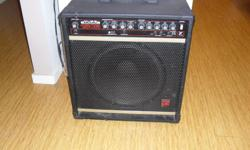 """Yorkville Bloc 150B Bass amp with 15"""" speaker in good condition. Great variation of sounds with parametric EQ. Good unit for recording studio or stage. Estate sale. priced to sell quickly. $195 obo"""