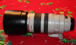 Euc Canon Zoom Lens EF 100/400 mm 1:45-5.6 Ultrasonic