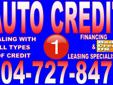 GUARANTEED AUTO APPROVAL LOANS. NO CREDIT? NO PROBLEM! BAD CREDIT? NO PROBLEM! WE GUARANTEE LOANS TO ANY TYPE CREDIT HISTORY.YOU WORK YOU DRIVE.WE DEAL WITH OVER 20 BANKS AND WE ALSO OWN OUR VERY OWN FINANCE AND LEASING COMPANY THEREFORE YOU ARE